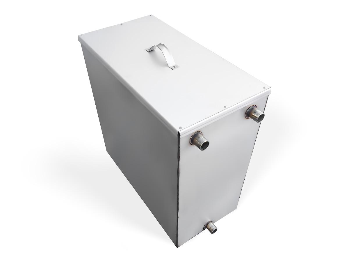 Бак для душа с нагревателем 110(100) л (нержавейка)